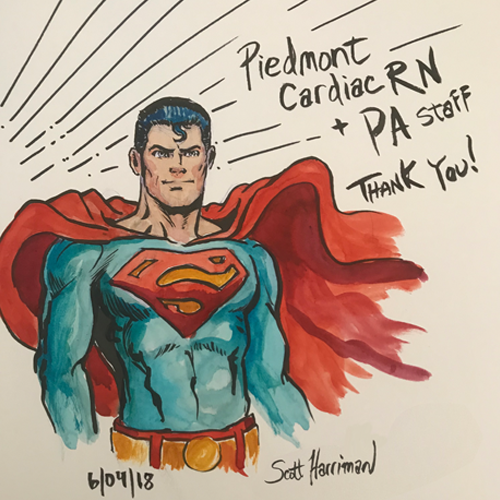 Illustration-SupermanThankYou